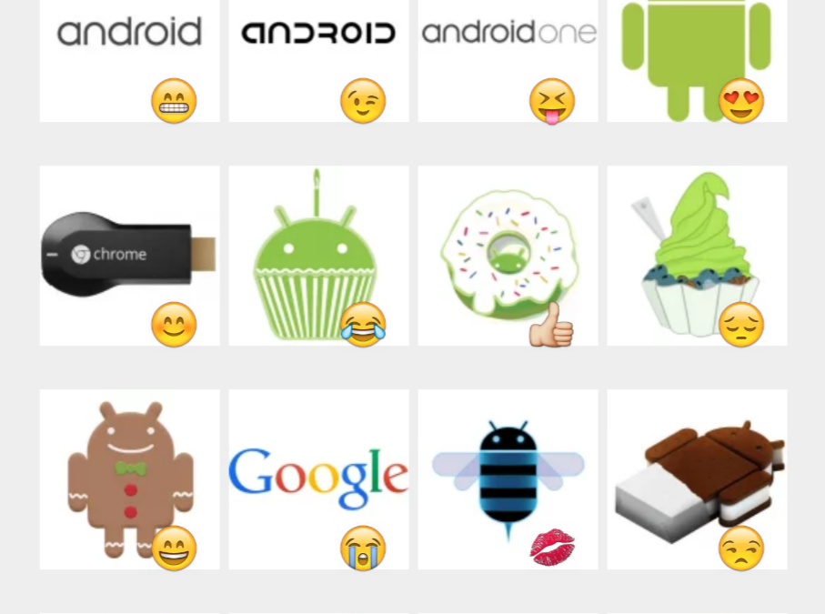 Android sticker set