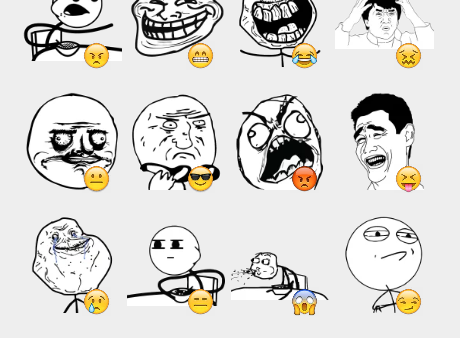 Cereal Guy sticker set