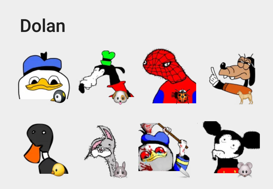 Dolan sticker set