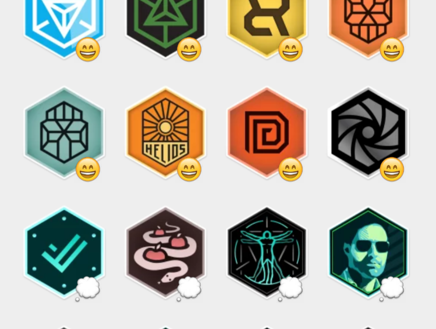 Ingress sticker set