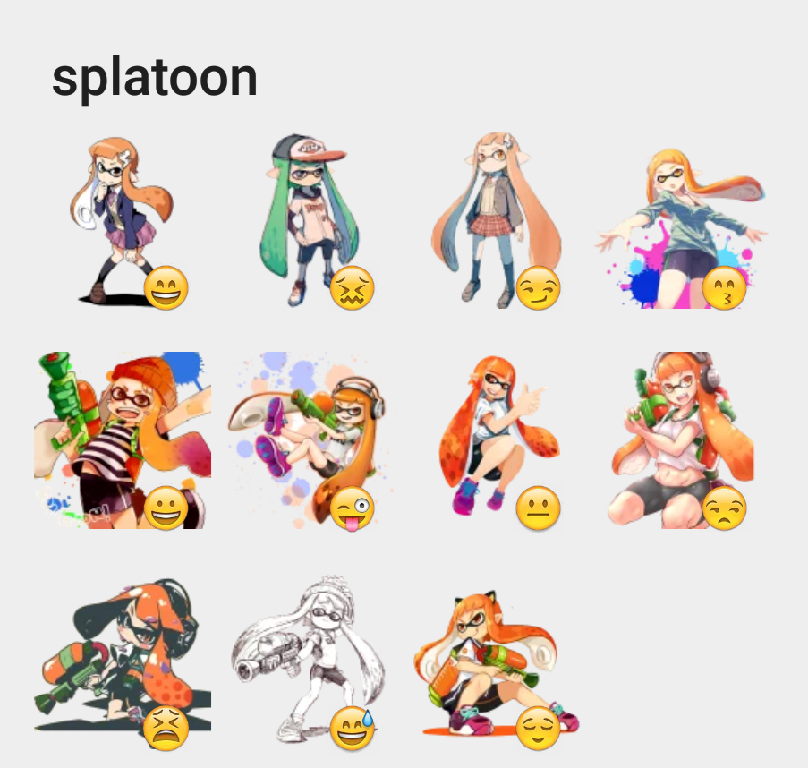splatoon sticker set stickers