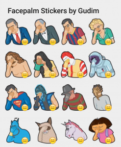 facepalmstickers