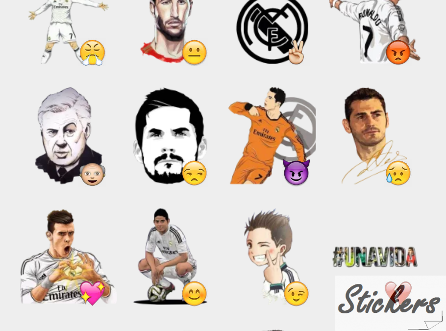 ReaLMadriD Telegram sticker set