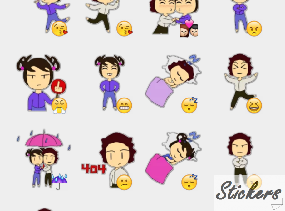 Amorzorzores Telegram sticker set