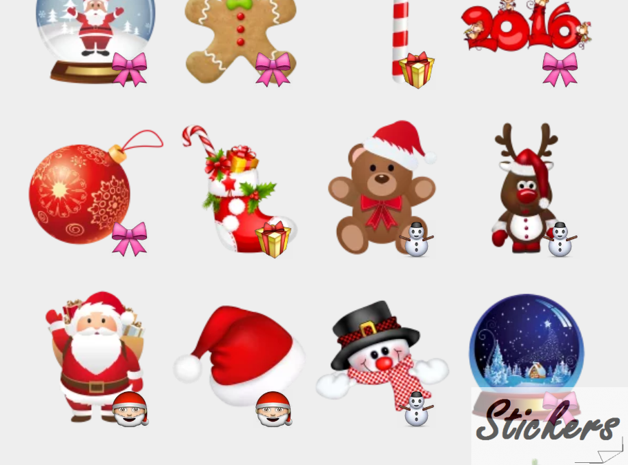 Merry Christmas by sononicola Telegram sticker set