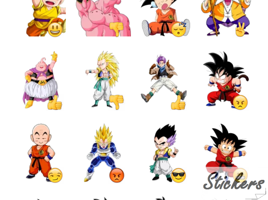 Dragon Ball Scimmia San Telegram sticker set
