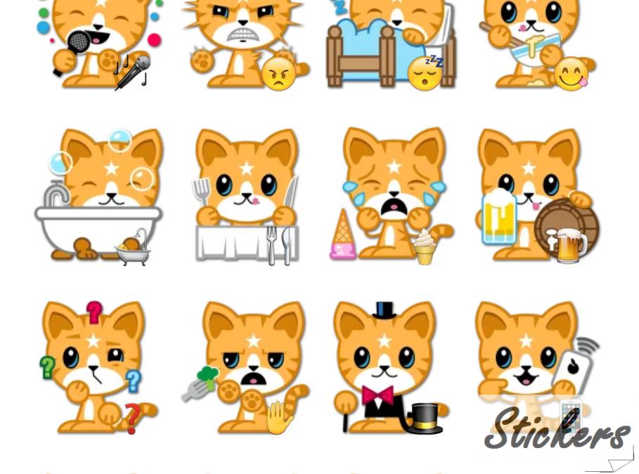 Mango Telegram sticker set
