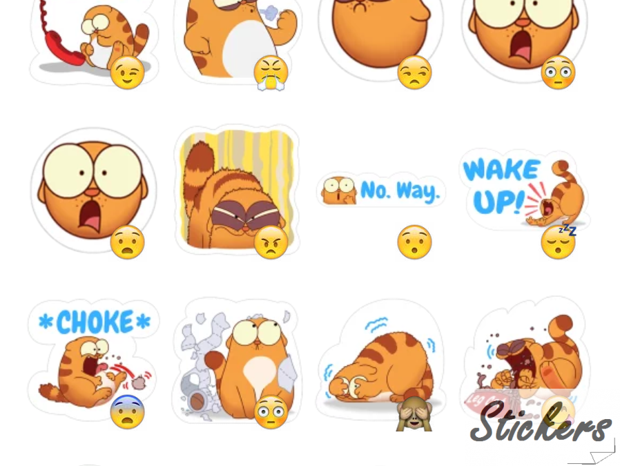 LegcatByGhafoori Telegram sticker set