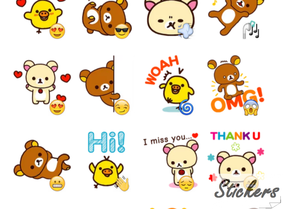 Rilakkuma58 Telegram sticker set