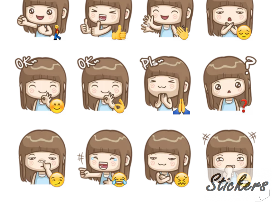 misa'sdailylife Telegram sticker set