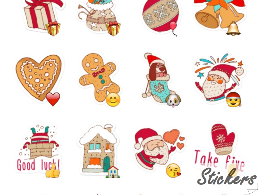Merry Xmas Telegram sticker set