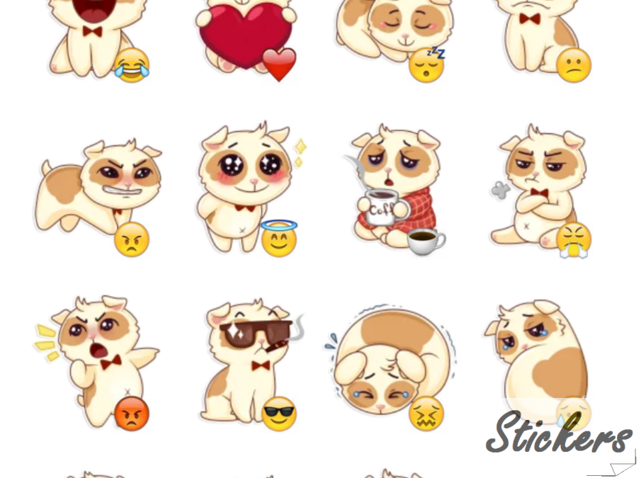Творожок Telegram sticker set