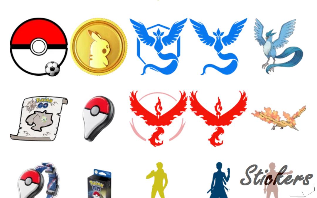 Pokemon GO by @sononicola Telegram sticker set