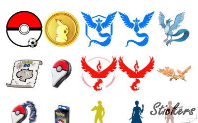 Pokemon GO by @sononicola Telegram sticker set