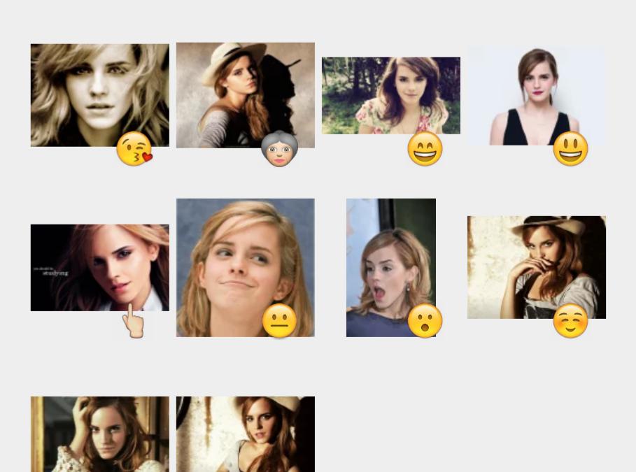 Emma Watson sticker set