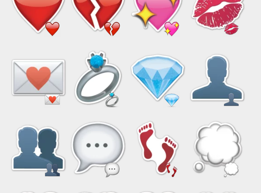 Emoji V1.2 by Carlosartugo stickers set