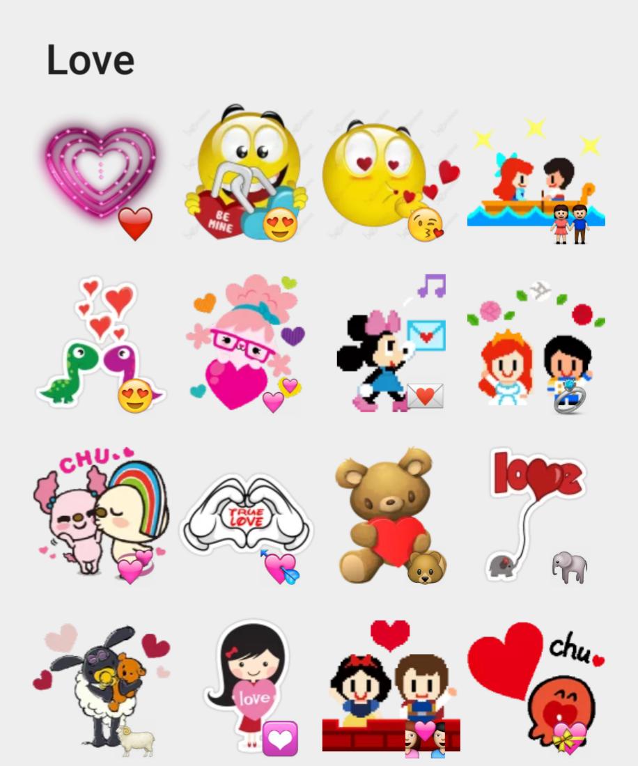 Love sticker set | Stickers