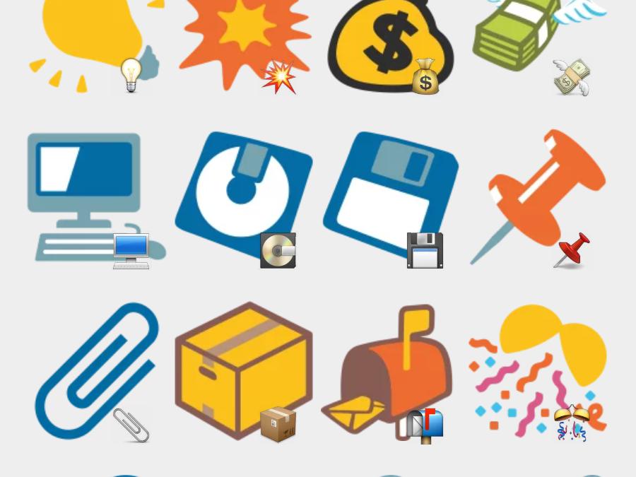 googleemojivarmrglider Telegram sticker set