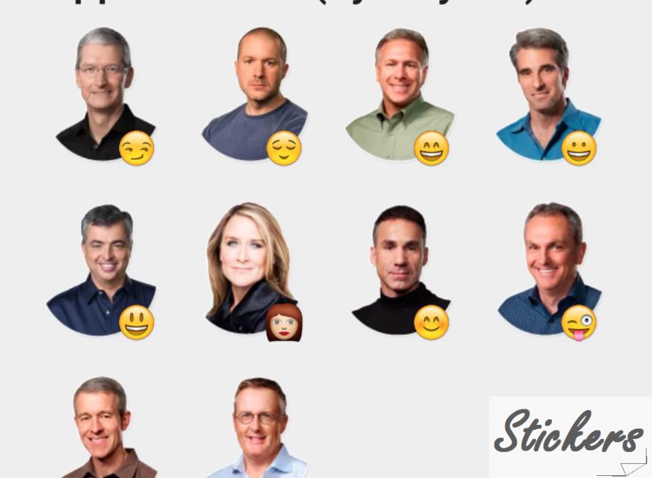 Apple Heroes (Apple Team) Telegram stickers set