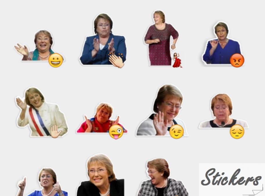 BacheletReactions 0.2 Telegram sticker set