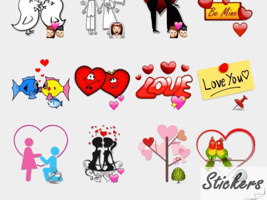 Love Telegram sticker set