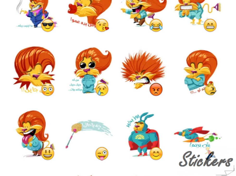 Household Cleaning Made EASY! Telegram stickers set