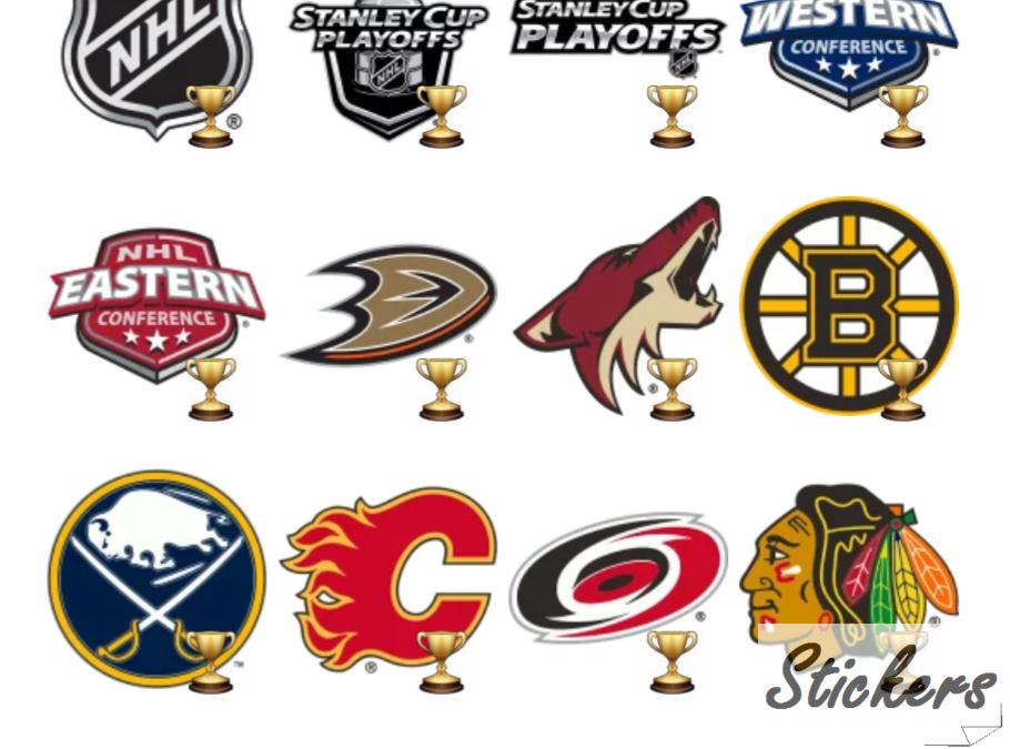 NHL Telegram sticker set
