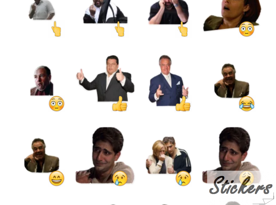 The Sopranos by Baron-Kelly Telegram sticker set