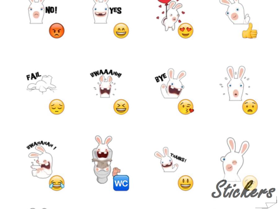 Rabbits Telegram sticker set