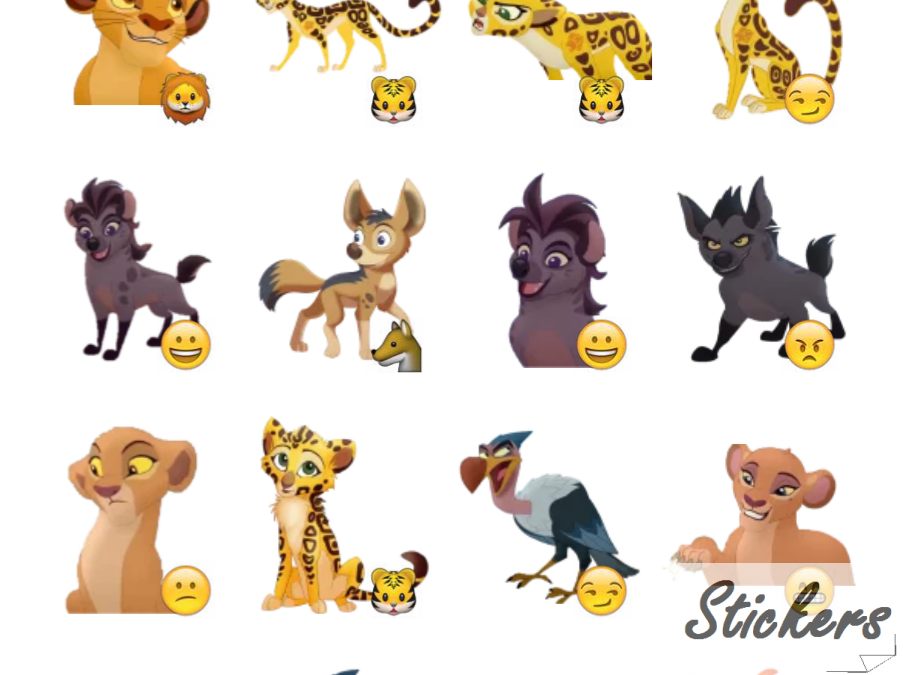 TheLionGuard Telegram sticker set